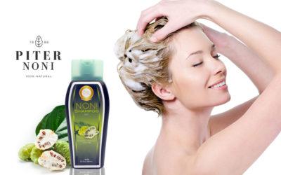 Shampoo de Noni para un cabello saludable